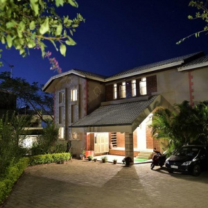 Night View of Bungalow